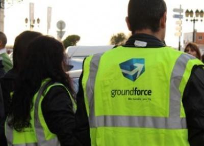 Trabalhadores da Groundforce manifestam-se junto ao Governo Civil de Faro