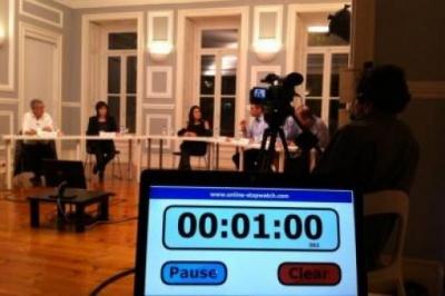 Em breve, a gravação na íntegra estará disponível para quem não pôde acompanhar o debate em direto.